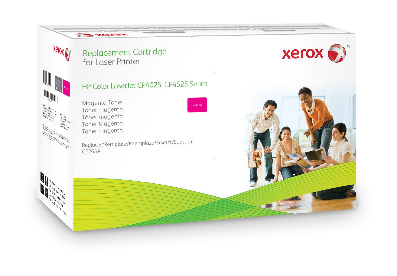 Xerox Cartucho De Tóner Magenta. Equivalente A Hp Ce263A