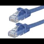 Monoprice 11382 2.1m Cat5e U/UTP (UTP) Blue networking cable