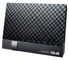 Asus DSL-N17U - Wireless router - DSL modem - 4-port switch - GigE - 802.11b/g/n - 2.4 GHz