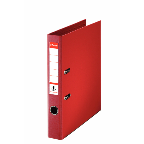Esselte Lever Arch File Pvc A4 50mm Red