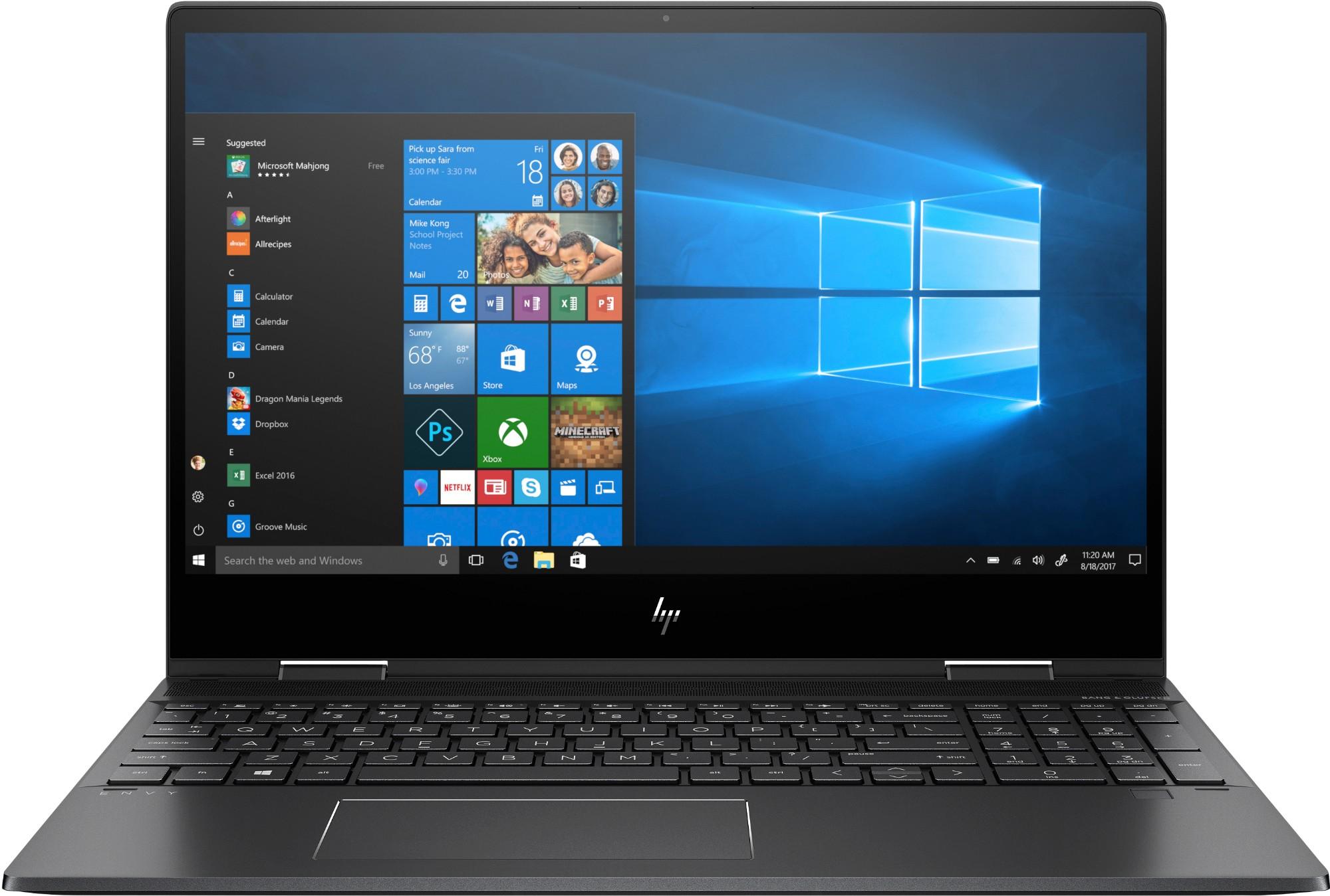 HP ENVY x360 15-ds0004na Black Hybrid (2-in-1) 39.6 cm (15.6
