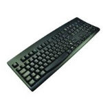 2-Power KEY1001RU USB + PS/2 Russian Black keyboard