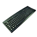 2-Power KEY1001RU USB + PS/2 Russian Black keyboard