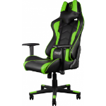 AEROCOOL ThunderX3 TGC22 Series Gaming Chair - Black/Green