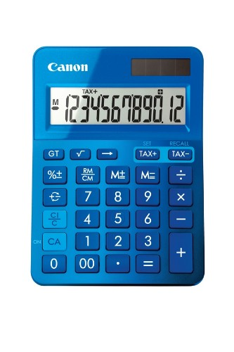 Canon LS-123k calculator Desktop Basic Blue