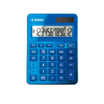Canon LS-123k calculator Desktop Basisrekenmachine Blauw