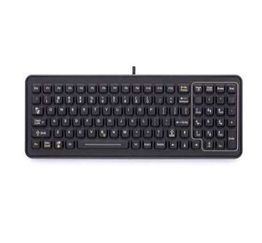 Zebra SLK-101-M-USB-3F teclado para móvil Negro