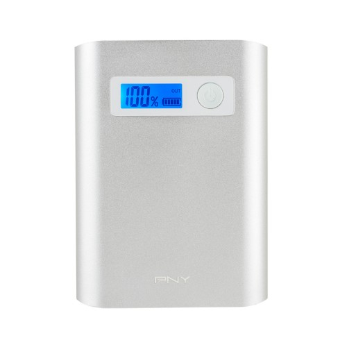 PNY PowerPack AD10400 Lithium-Ion (Li-Ion) 10400mAh Silver power bank