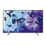 "Samsung Q6F QE49Q6FNATXXU TV 124.5 cm (49"") 4K Ultra HD Smart TV Wi-Fi Silver"