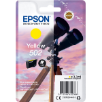 Epson 502 3.3ml 165pages Yellow ink cartridge C13T02V44010