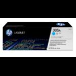 HP CE411A (305A) Toner cyan, 2.6K pages