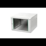 Digitus DN-19 07U-6/6-EC rack cabinet 7U Wall mounted rack Grey
