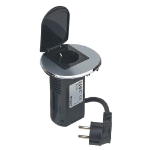 C2G 80856 Schuko Black socket-outlet