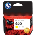 HP CZ112AE (655) Printhead cartridge yellow, 600 pages