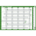 Sasco 2410137 wall planner Green,White 2021