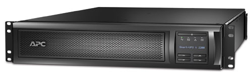 APC Smart-UPS Line-Interactive 2200VA 9AC outlet(s) Rackmount/Tower Black uninterruptible power supply (UPS)