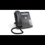 Snom 710 Wired handset 4lines LED Black,Platinum