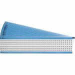 Brady WM-77-PK self-adhesive label Rectangle Permanent White 900 pc(s)