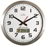 Acctim MERIDIAN RC WL CLOCK ALUM 74447