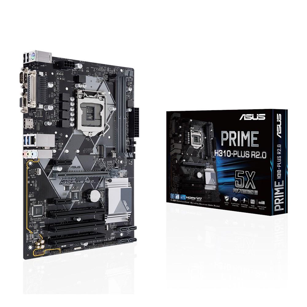ASUS H310-PLUS R2.0 motherboard LGA 1151 (Socket H4) ATX Intel® H310