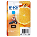 Epson C13T33424012 (33) Ink cartridge cyan, 300 pages, 5ml