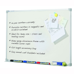 QUARTET WHITEBOARD PENRITE PORCELAIN 900X1500MM