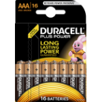 Duracell Plus Power AAA Alkaline 1.5V non-rechargeable battery