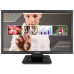 """Viewsonic TD2220 touch screen monitor 21.5"""" 1920 x 1080 pixels Tabletop Black"""