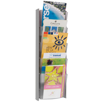 Alba WALL DISPLAY UNIT 5 PKT A5 METALLIC