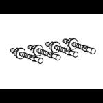 Ergotron Attachment Options Hardware Kit for Base (4) concrete stud anchors