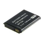 2-Power Digital Camera Battery 3.7v 700mAh