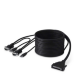 Belkin OmniView™ ENTERPRISE Series Dual-Port USB KVM Cable, 3.6m