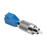 Tripp Lite T020-001-LC9 fiber optic adapter FC/LC 1 pc(s) Blue, Silver