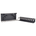 Hewlett Packard Enterprise JG830A cable tray Black