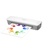 Fellowes 4560401 laminator Hot laminator Gray, White