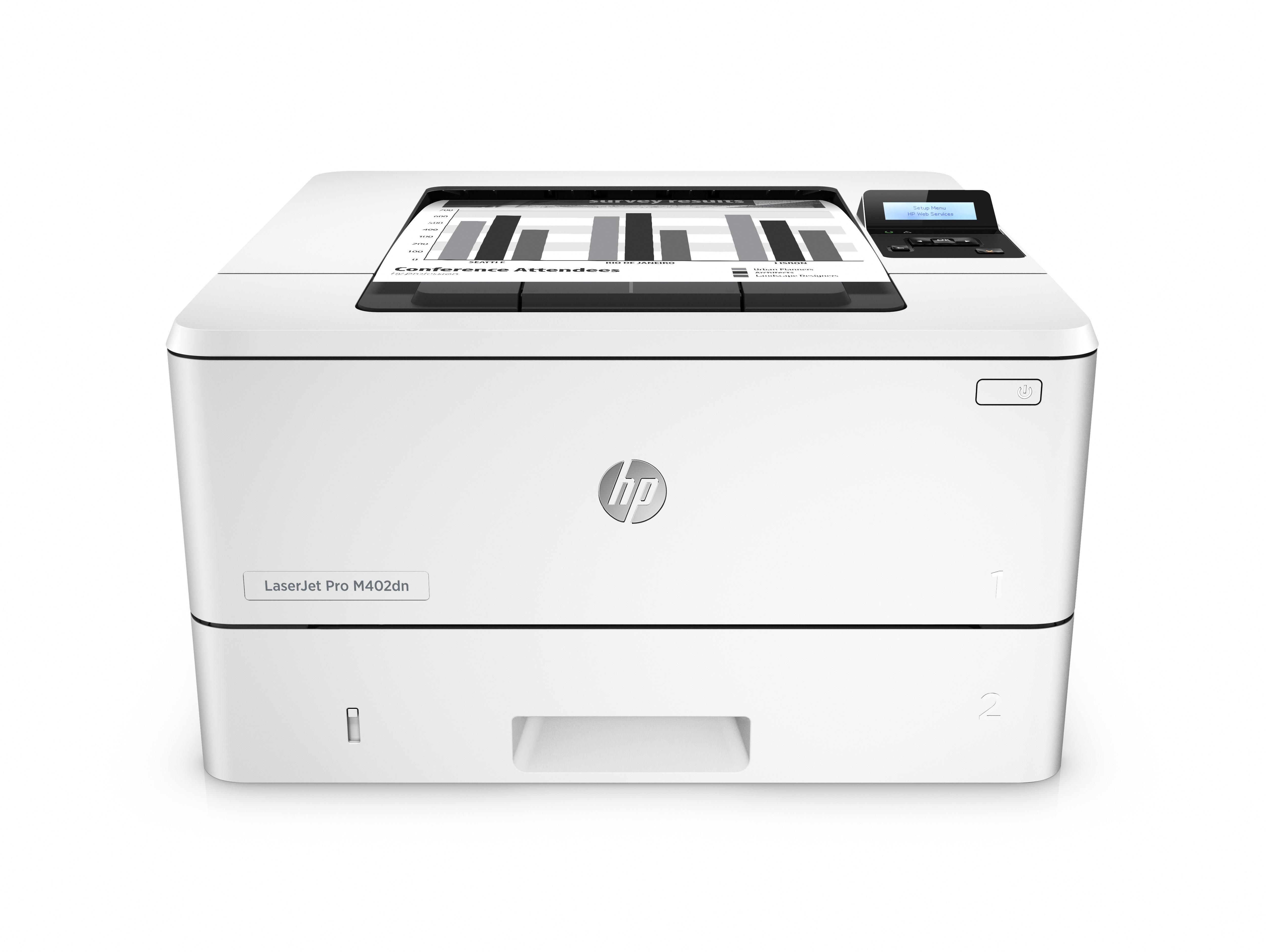HP LaserJet Pro M402dn 1200 x 1200DPI A4 Grey