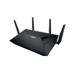 ASUS BRT-AC828 wireless router Dual-band (2.4 GHz / 5 GHz) Gigabit Ethernet 3G 4G Black