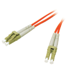 C2G 15m LC/LC fiber optic cable Orange