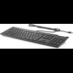 HP Business Slim Smartcard keyboard USB Black