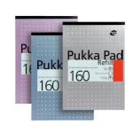 Pukka Pukka Pad A4 Refill Pad 160 Pages White PK6