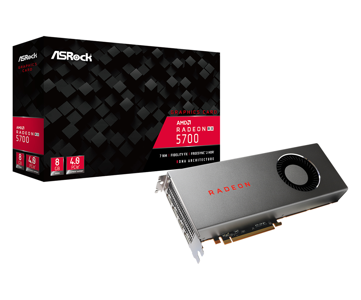 Asrock RX 5700 8G Radeon RX 5700 8 GB GDDR6