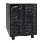 Aleratec 350142 media duplicator HDD duplicator 16 copies Black
