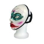 PAYDAY 2 Replica Old Clover Face Vinyl Cosplay Mask with Backstrap, One Size, Multi-Colour (GE3266)