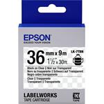 Epson C53S657007 (LK-7TBN) DirectLabel-etikettes, 36mm x 9m