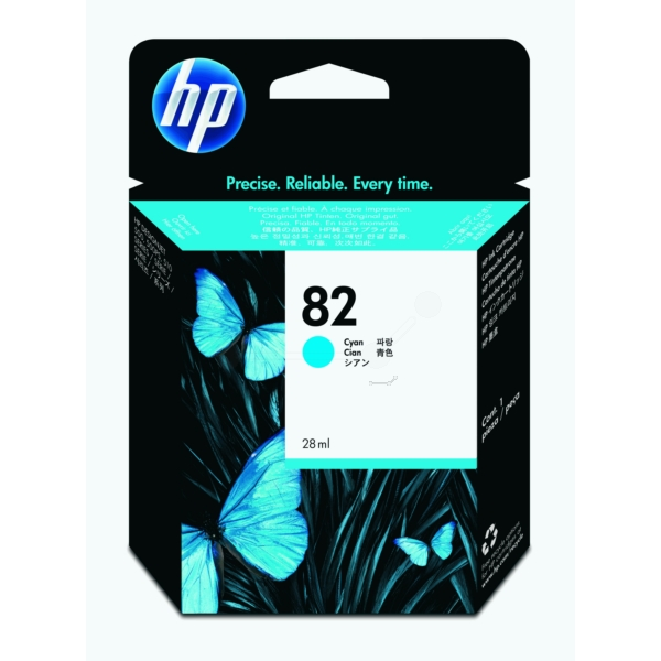 HP CH566A (82) Ink cartridge cyan, 28ml