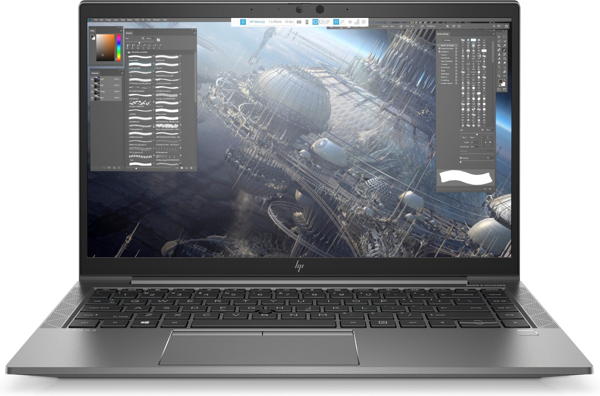 HP ZBook Firefly 14 G7 Ultraportable Silver 35.6 cm (14