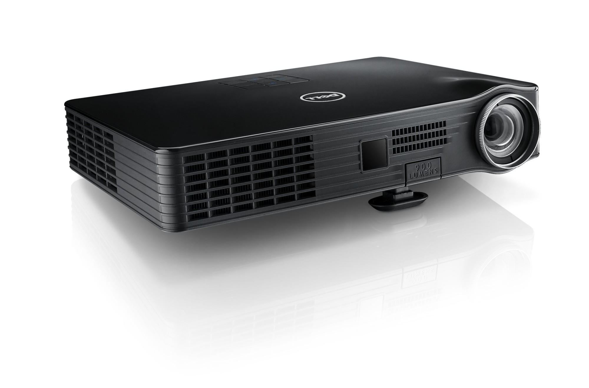 Dell m900hd portable projector 900ansi lumens led wxga for Portable projector