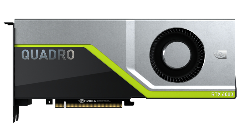 PNY VCQRTX6000-PB graphics card Quadro RTX 6000 24 GB GDDR6