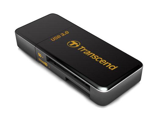 Transcend RDF5 USB 3.0 Black card reader TS-RDF5K
