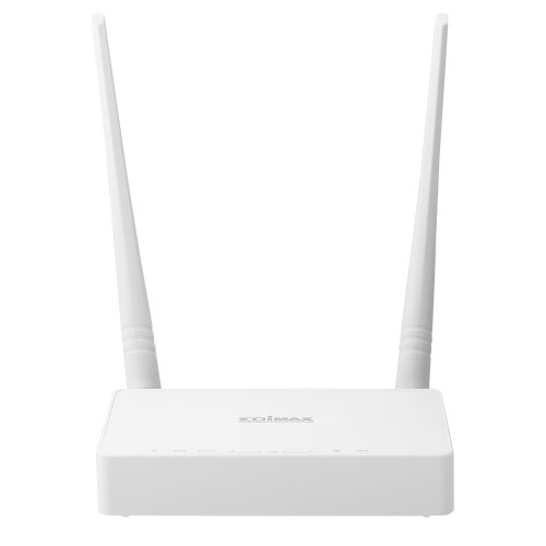 Edimax N300 wireless router Single-band (2.4 GHz) Fast Ethernet White